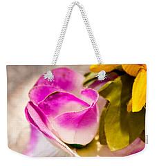 Cloth Rose Bud Weekender Tote Bag