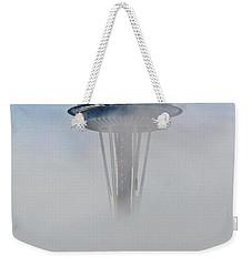 Cloud City Needle Weekender Tote Bag by Benjamin Yeager