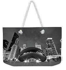 Cloud Gate And Skyline Weekender Tote Bag