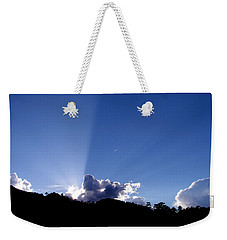 Cloud Rays Weekender Tote Bag by Craig T Burgwardt