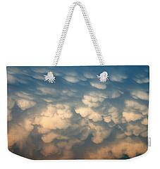 Cloud Texture Weekender Tote Bag
