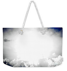 Cloudburst Sky Celestial Cloud Art Xl Resolution Weekender Tote Bag