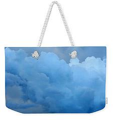 Clouds 2 Weekender Tote Bag by Leanne Seymour