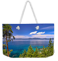 Clouds And Silence - Lake Tahoe Weekender Tote Bag