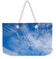 Clouds Weekender Tote Bag by Liz  Alderdice
