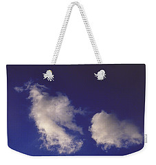 Weekender Tote Bag featuring the photograph Clouds by Mark Greenberg