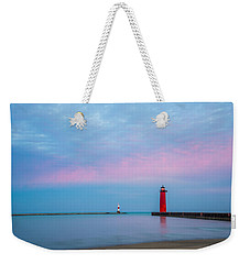 Weekender Tote Bag featuring the photograph Clouds Of Cotton Candy by Steven Santamour