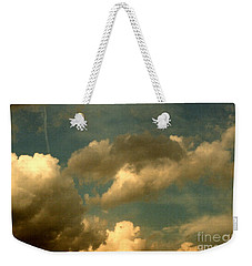 Clouds Of Yesterday Weekender Tote Bag by Anita Lewis
