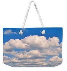 Clouds Over Lake Pontchartrain Weekender Tote Bag by Deborah Lacoste