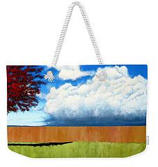 Cloudy Day Weekender Tote Bag