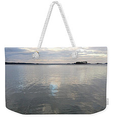 Cloudy Reflection Weekender Tote Bag