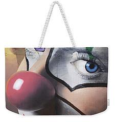 Clown Mural Weekender Tote Bag