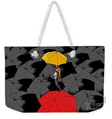 Clowning On Umbrellas 01 - A11 Weekender Tote Bag