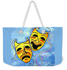 Comedy And Tragedy Weekender Tote Bag