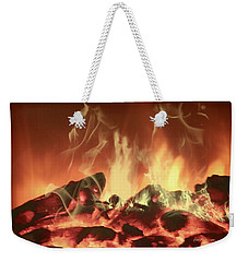 C'mon Baby Light My Fire Weekender Tote Bag by EricaMaxine  Price
