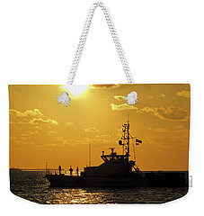 Coast Guard In Paradise - Key West Weekender Tote Bag