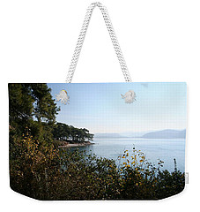 Weekender Tote Bag featuring the photograph Coast by Tracey Harrington-Simpson