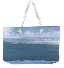Coastal- Abstract Landscape Painting Weekender Tote Bag
