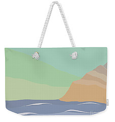 Coastal Bank Weekender Tote Bag