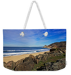 Weekender Tote Bag featuring the photograph Coastal Beauty by Dave Files