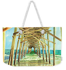 Coastal Cathedral  Weekender Tote Bag
