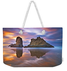Coastal Cloud Dance Weekender Tote Bag