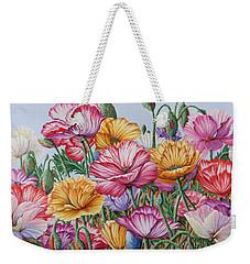 Coastal Poppies Weekender Tote Bag