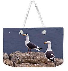 Coastal Seagulls Weekender Tote Bag by Melinda Ledsome