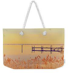 Coastal Winter Weekender Tote Bag