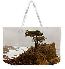 Coastline Cypress Weekender Tote Bag by Melinda Ledsome