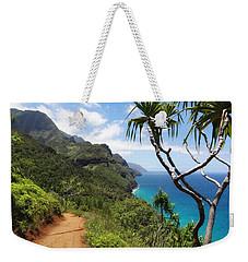 Coastline Of Kauai  Weekender Tote Bag