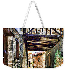 Cobble Streets Of Potes Spain By Diana Sainz Weekender Tote Bag