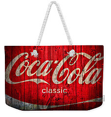 Coca Cola Barn Weekender Tote Bag