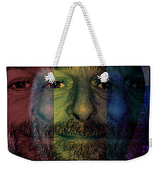 Weekender Tote Bag featuring the photograph Coca In  One by Sir Josef - Social Critic - ART