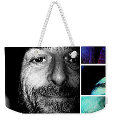 Weekender Tote Bag featuring the photograph Coca In Part 2 by Sir Josef - Social Critic - ART