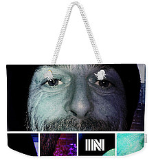 Weekender Tote Bag featuring the photograph Coca In Part 3 by Sir Josef - Social Critic - ART