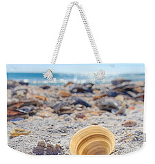 Cockle Shell Summer At Sanibel Weekender Tote Bag