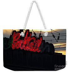 Cocktail Hour Weekender Tote Bag by Robyn King