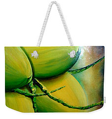 Coconut In Bloom Weekender Tote Bag