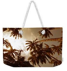 Coconut Palms Weekender Tote Bag
