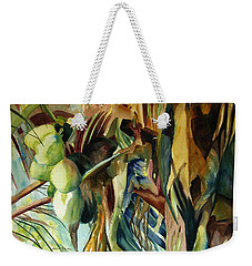 Coconuts And Palm Fronds 5-16-11 Julianne Felton Weekender Tote Bag