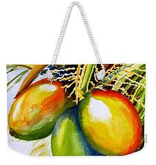 Coconuts Weekender Tote Bag by Carlin Blahnik