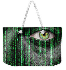 Code Breaker Weekender Tote Bag by Semmick Photo