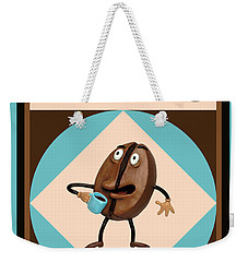 Coffee Buzz Weekender Tote Bag