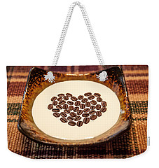 Coffee And Cream Weekender Tote Bag