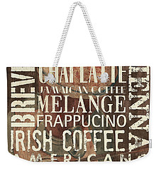 Coffee Of The Day 1 Weekender Tote Bag