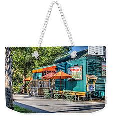 Coffee Shop Weekender Tote Bag by Jane Luxton