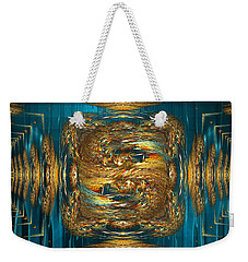 Coherence - Abstract Art By Giada Rossi Weekender Tote Bag by Giada Rossi