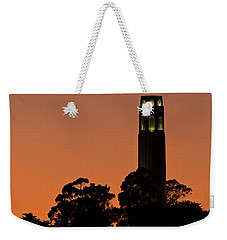 Weekender Tote Bag featuring the photograph Coit Tower Sunset by Kate Brown