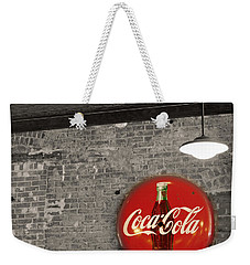 Coke Cola Sign Weekender Tote Bag